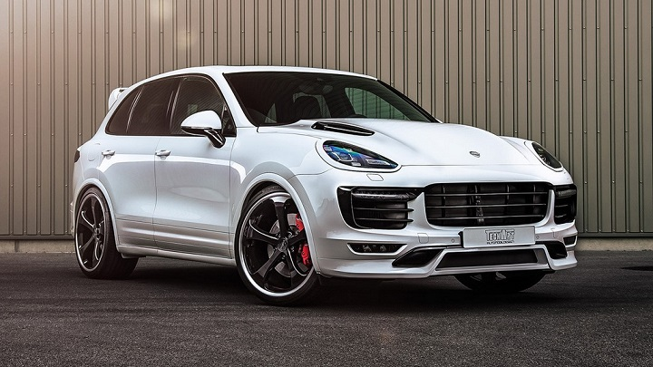 Porsche Cayenne Turbo Techart 1