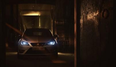 SEAT Ibiza Cupra 2016 frontal luces LED