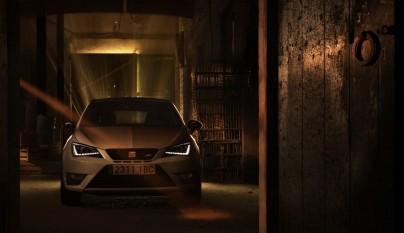 SEAT Ibiza Cupra 2016 frontal oscurecido