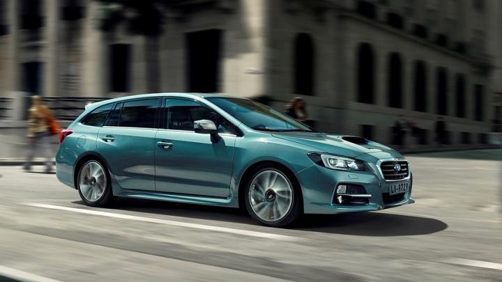 Subaru Levorg en movimiento