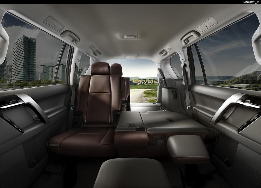 Toyota Land Cruiser 2016 Cambios Por Dentro