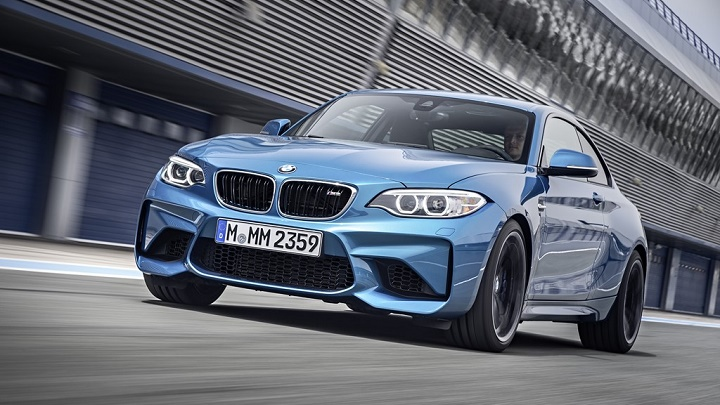 BMW M2 Coupe azul