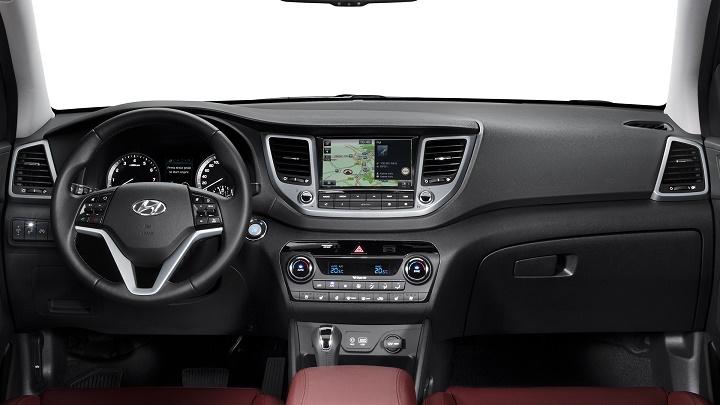 Hyundai Tucson 2016 interior