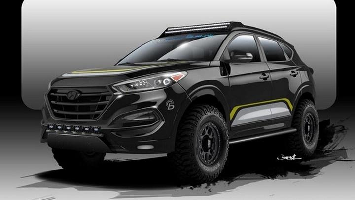 Hyundai Tucson SEMA 2015