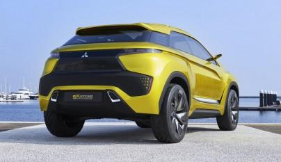 Mitsubishi eX Concept 17