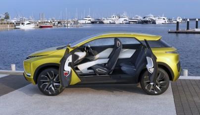 Mitsubishi eX Concept 18