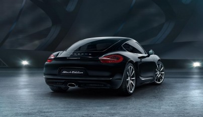 Porsche Cayman Black Edition 11