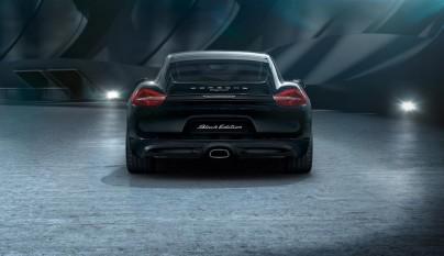 Porsche Cayman Black Edition 12