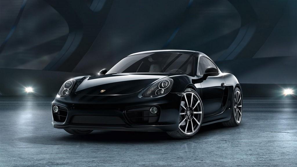 Porsche Cayman Black Edition 4