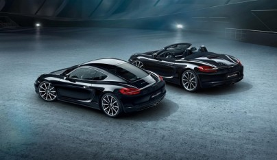 Porsche Cayman Black Edition 6