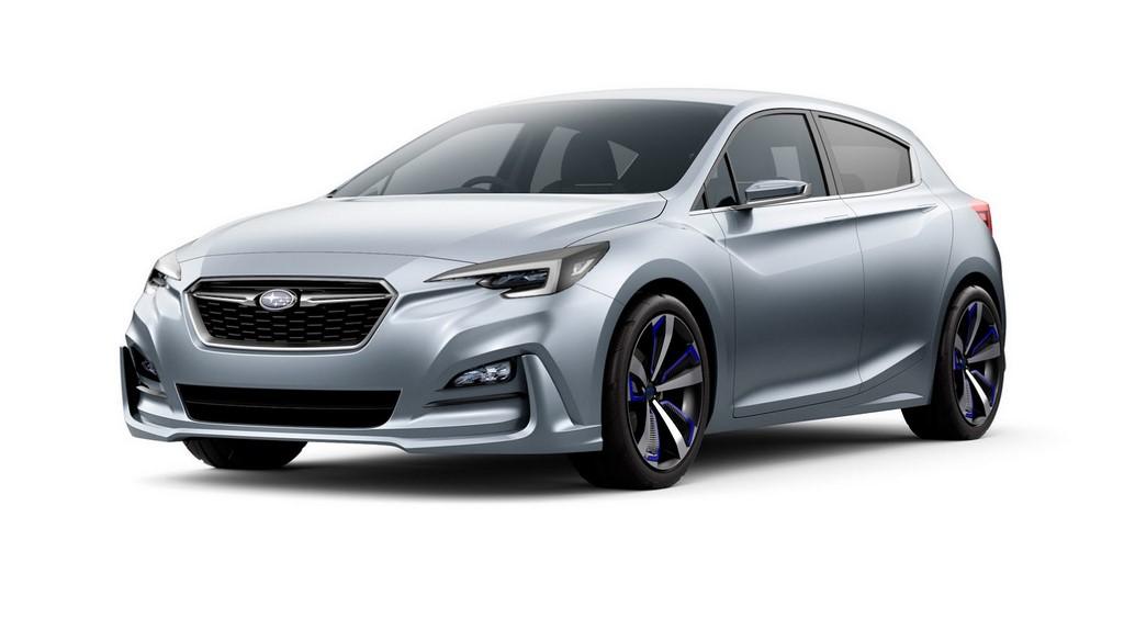 Subaru Impreza 5-Door Concept 1