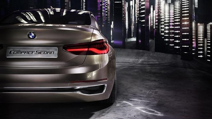 BMW Concept Compact Sedan 8