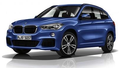 BMW X1 M Sport frontal tres cuartos
