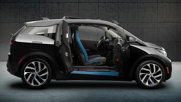 BMW i3 Shadow Sport puertas abiertas