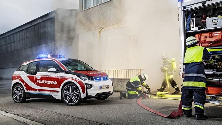 BMW i3 bomberos 2