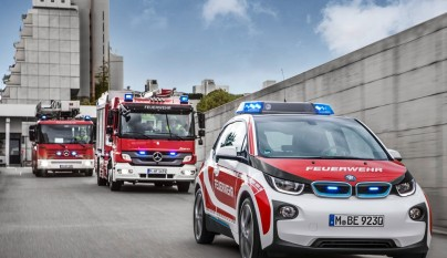 BMW i3 bomberos 3