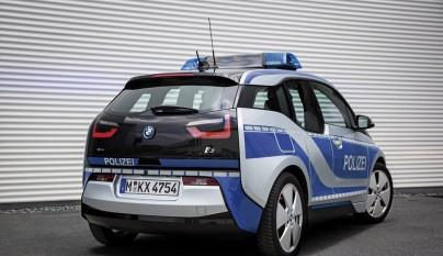 BMW i3 policia 2