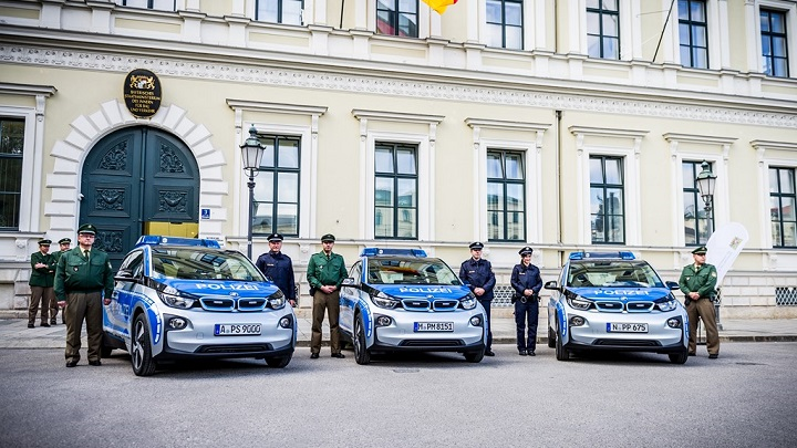 BMW i3 policia 3