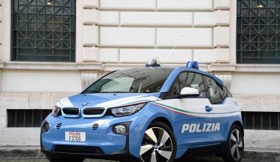 BMW i3 policia 6