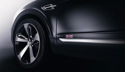 Bentley Bentayga First Edition lateral