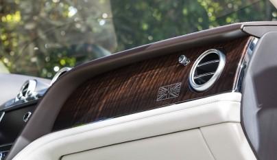Bentley Bentayga First Edition salpicadero