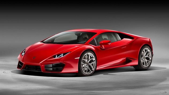 Lamborghini Huracan LP 580-2 frontal tres cuartos