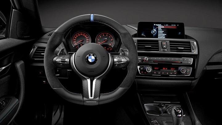 M4 Coupe interior