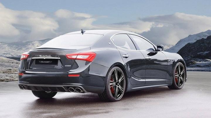 Maserati Ghibli Mansory 2