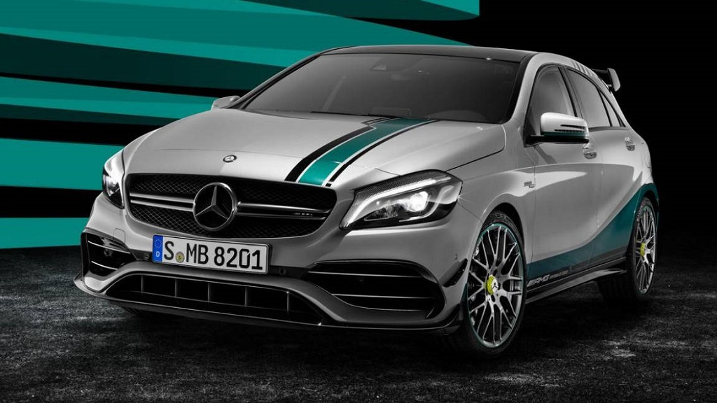 Mercedes A 45 AMG Petronas 2015 World Champion Edition 1