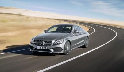 Mercedes-Benz Clase C Coupe 10