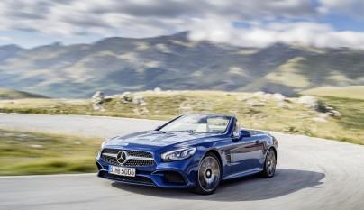 Mercedes SL 2016 azul