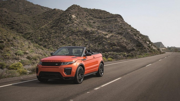 Range Rover Evoque descapotable 16