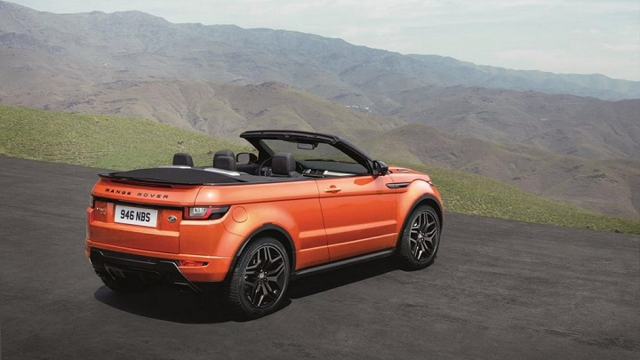 Range Rover Evoque descapotable 35