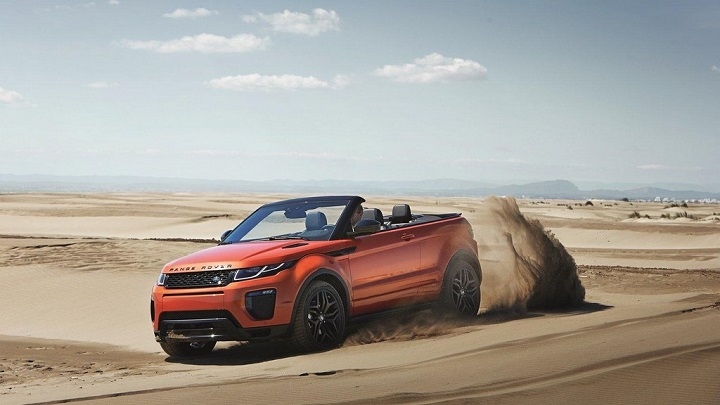 Range Rover Evoque descapotable 9