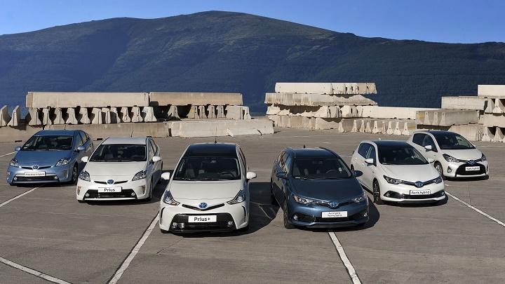Toyota gama hibrida