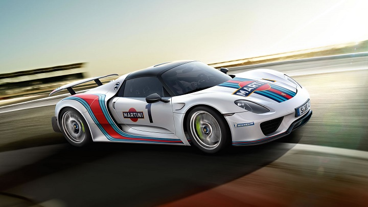 918 Spyder Martini Racing