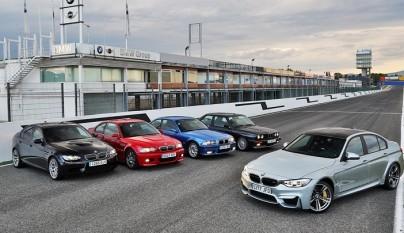 BMW 5 generations 2
