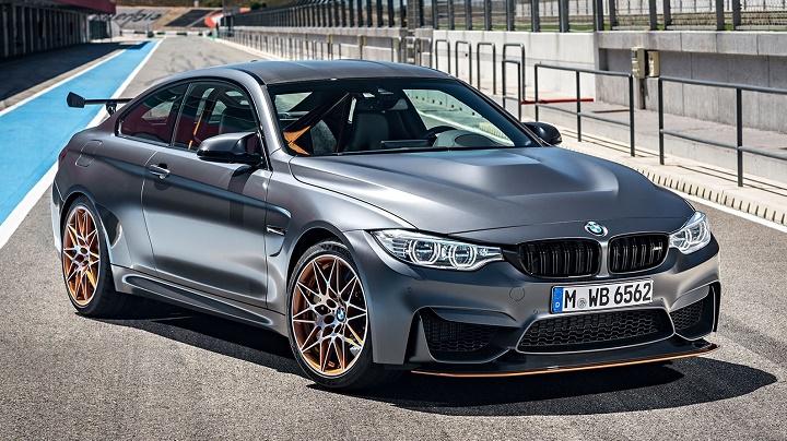 BMW M4 GTS plata