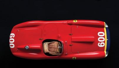 Ferrari 290 MM Fangio desde arriba