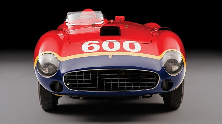 Ferrari 290 MM Fangio frontal