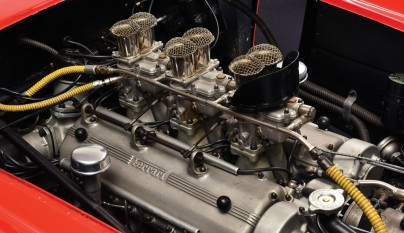 Ferrari 290 MM Fangio motor