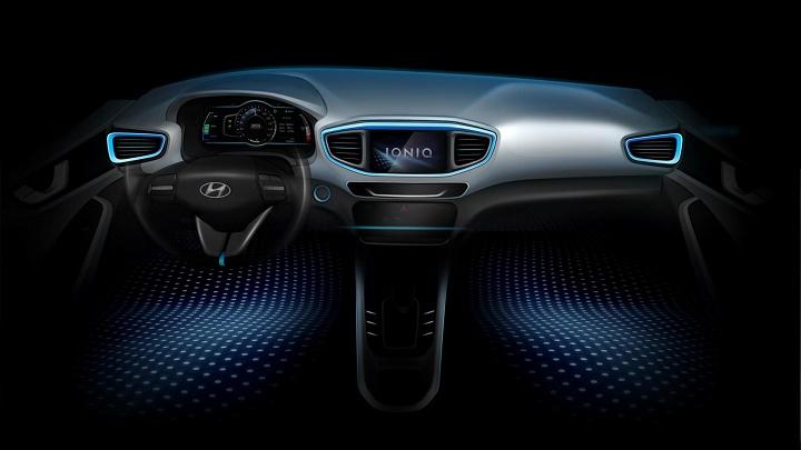 Hyundai IONIQ interior teaser