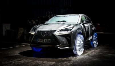Lexus NX neumaticos hielo