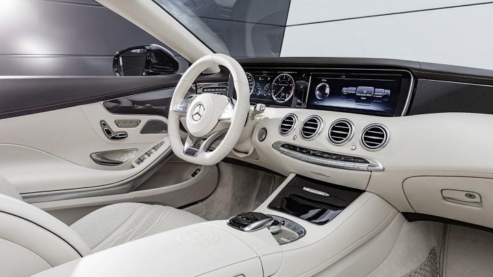 Mercedes-AMG S 65 Cabrio interior