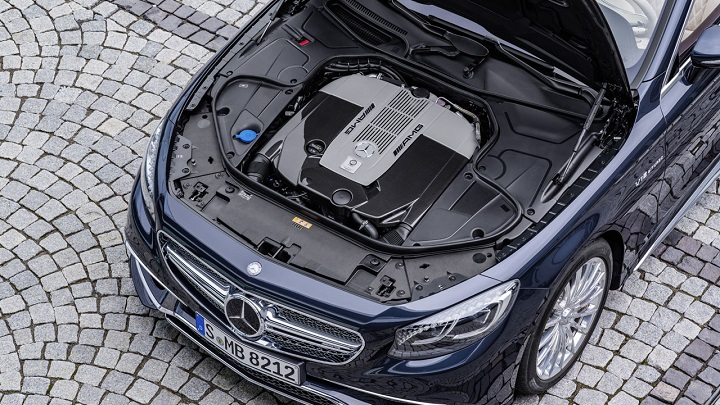 Mercedes-AMG S 65 Cabrio motor