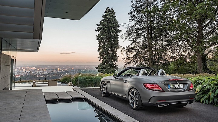 Mercedes-Benz SLC 2016 18