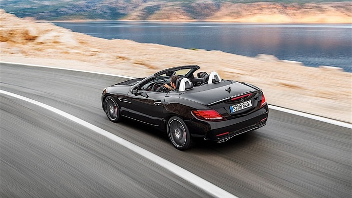 Mercedes-Benz SLC 2016 45