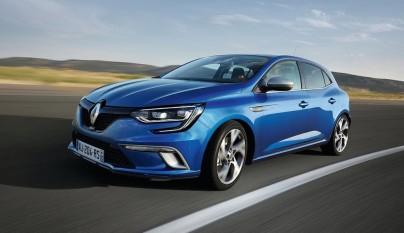 Renault Megane 2016 frontal tres cuartos