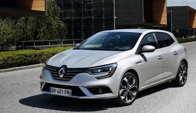 Renault Megane 2016 gris
