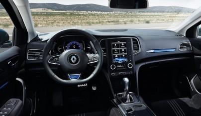 Renault Megane 2016 interior